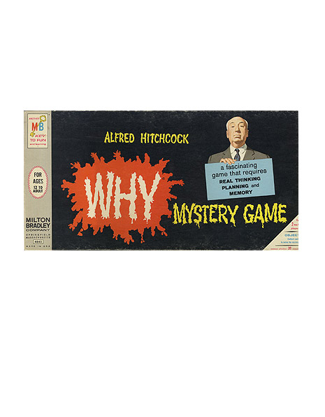 Alfred Hitchcock Why Mystery Game